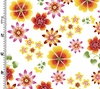 Multi Color Florals - Contemporary (1/2 Yd.)