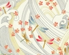 NIWA COLLECTION: Dragonflies - Cream (1/2 yd)