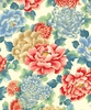 NIWA COLLECTION: Floral Fantasy - Cream (1/2 yd)