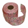 PINK RAYON CHIRIMEN RIBBON - 2 Inch Wide: Bunny Rabbits (5  Yd. Roll)