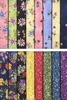 QUILTER'S DELIGHT: Floral Garden Scrap Assortment (16 Pcs)