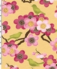 SONGBIRDS & CHERRY BLOSSOMS: Pink (1/2 Yd)