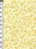 TADASHI COLLECTION: Gold Cherry Blossoms (1/2 Yd)