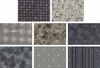 TAUPE LOVERS COLLECTION: BLACK/GRAY - 8 Half Yard (4 Yds)