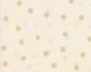 Tiny Blossoms Afloat: Cream/Gold (1/2 Yd.)