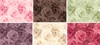 TONAL ROSE COLLECTION by Quilt Gate