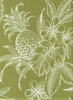 Tropical Silhouettes: Green (1/2 Yd.)