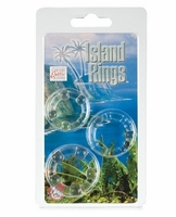 Silicone Island Rings - Clear