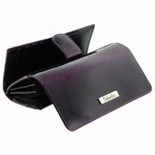 Purple Patent Leather Wallet