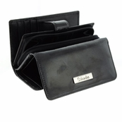Small Black Patent leather wallet