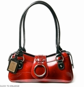 Small Red Patent Leather Bag