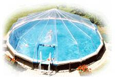 12' Round 10 panel Above Ground Swimming Pool Sun Dome