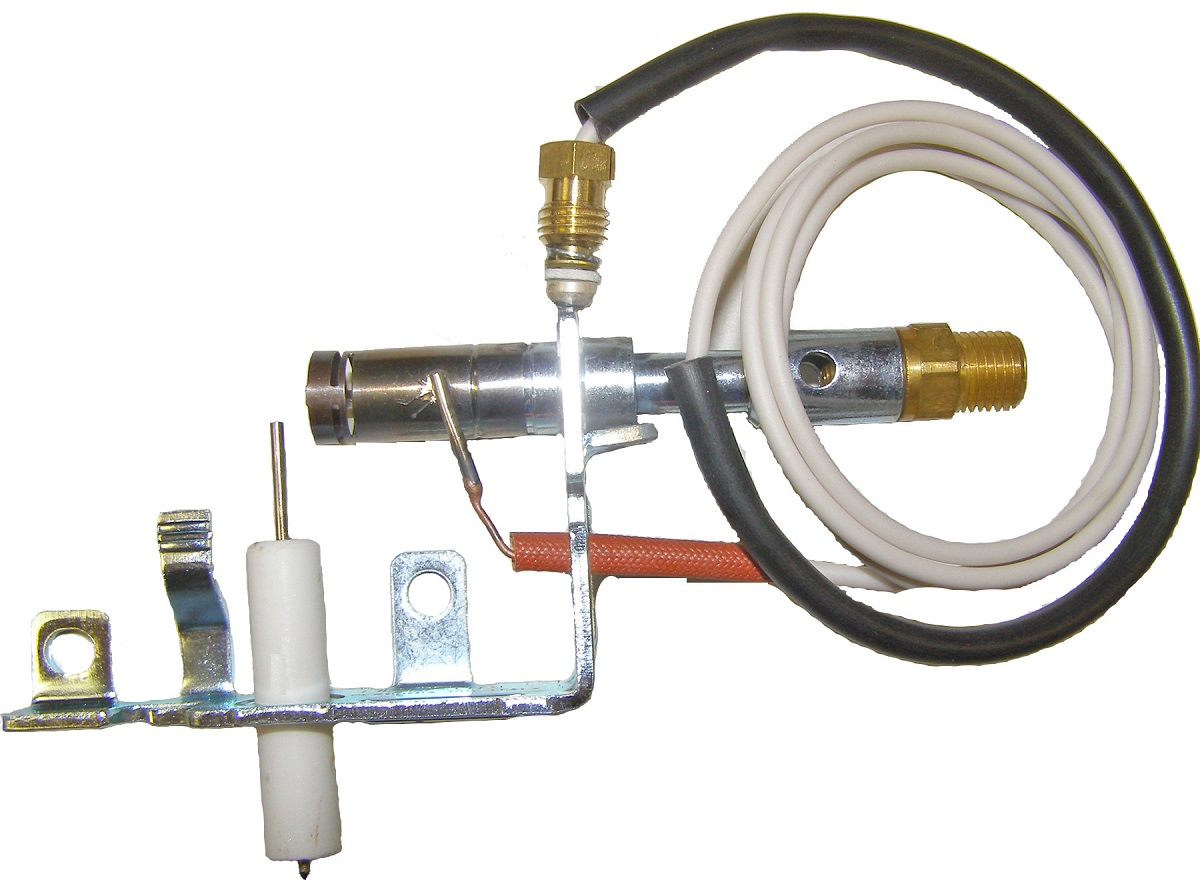 104286 01 1 wire lp gas pilot ods assembly thermocouple 34 quot