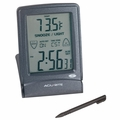 AcuRite Digital Touch Screen Travel Alarm, Stylus Included, 13007