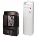 Acurite Indoor or Outdoor Thermometer with Clock, 00606A3