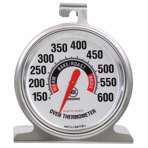 Acurite NSF Stainless Steel Oven Thermometer, 00620A2