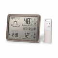 AcuRite Wireless Jumbo Display Weather Forecaster, 75077A3