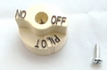Beige Knob for 700 series Gas Valves, 1751-012