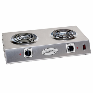 Broilking Professional Rated Double Hot Plate, Stainless Housing, CDR-1TB