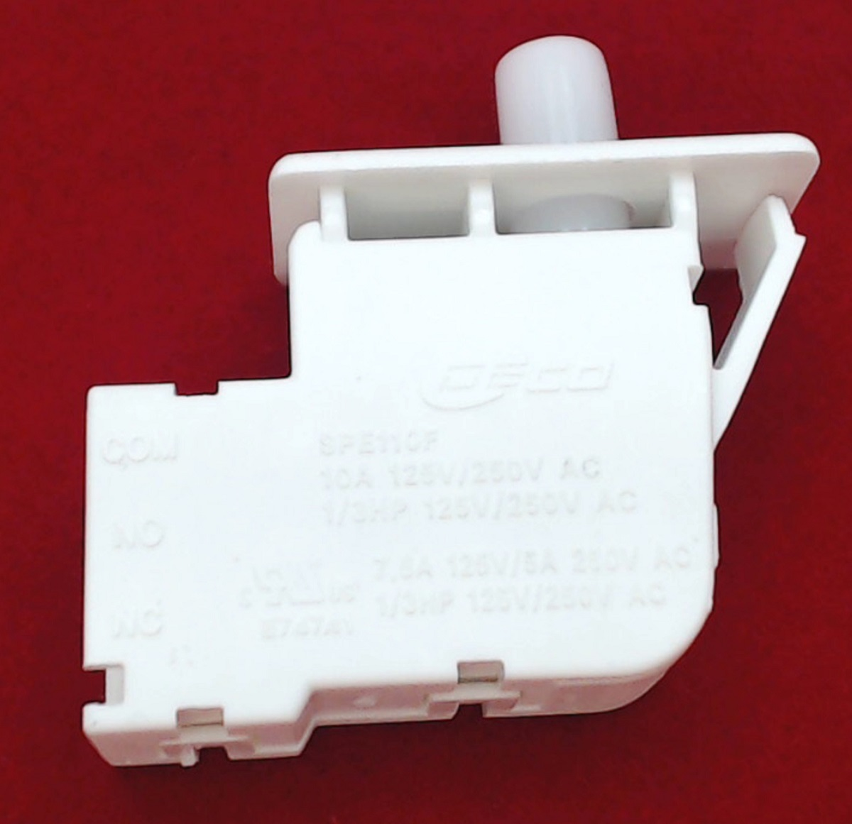 Dc64 00828a Dryer Door Switch For Samsung