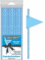 Cupcake Creations, Fashion Straws & Name Flags, White Dots on Blue, 24 Pk, 7006