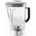 KitchenAid 56-Ounce Blender Pitcher with Silver Mist Lid, W10555711 & 9709361