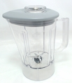 Kitchenaid Blender 48oz Plastic Pitcher with Grey Lid, KSB48PCG, KSB48PEL