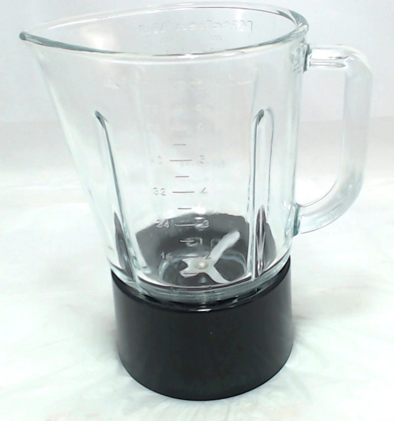 W10279534 - KitchenAid Blender Glass Jar Assembly Black