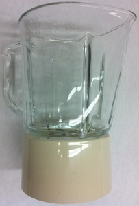 Kitchenaid Blender Glass Jar Assembly Creme, W10279537