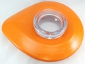 KitchenAid Blender Lid Assembly Includes Cap, Tangerine, W10415984