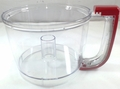 KitchenAid Food Processor Bowl Empire Red, KFP77WBER, 8211907