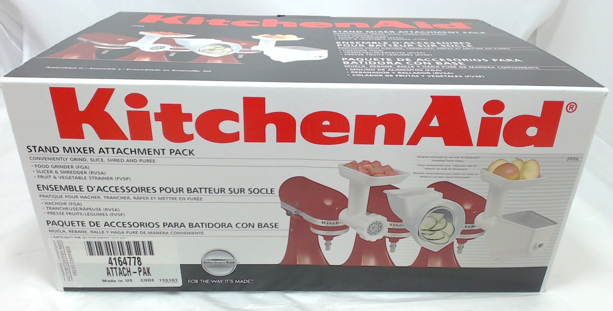 Delightful Kitchenaid Fppa Mixer Attachment Pack For Stand Mixers #2: Kitchen Aid Artisan Stand Mixer Attachment Pack