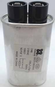 Microwave High Voltage Capacitor, 2100 vac, .95 mfd uf, 13QBP21095