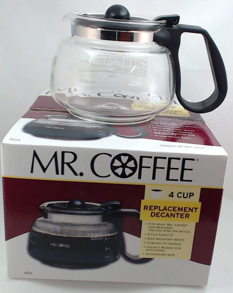 Nd4 Mr Coffee 4 Cup Glass Carafe