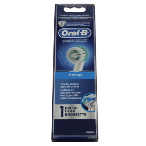 What oral b replacement brush head really empties
