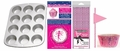 Pink Fairy Dust Party Pack, Muffin Pan, Baking Cups, Fashion Straws & Name Flags