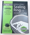 Presto Pressure Cooker Sealing Ring For Models: 01370, 09980