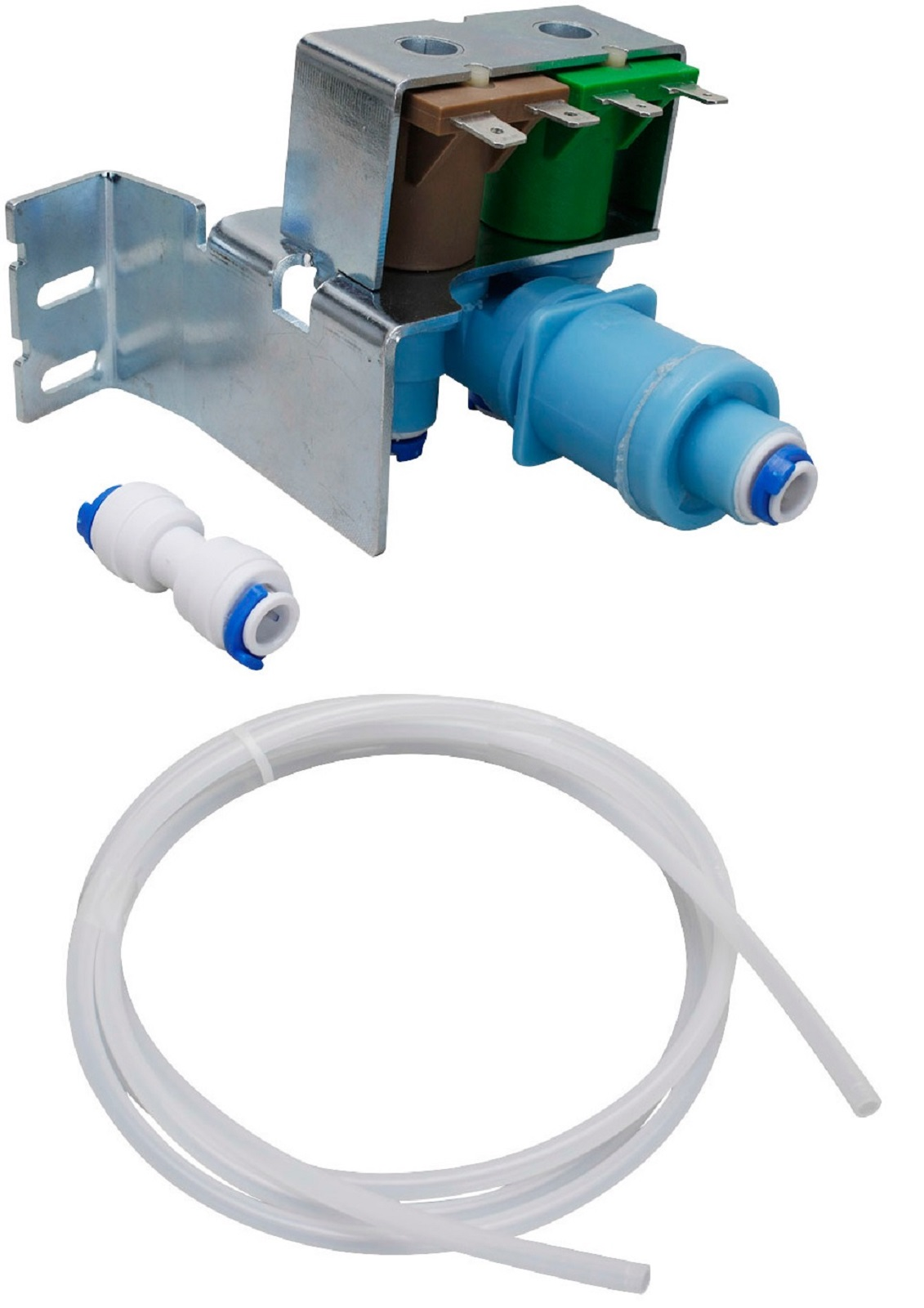Refrigerator Water Valve Kit for Whirlpool, Sears, Kenmore, 4389177