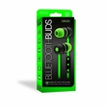 Sentry Bluetooth, Rechargeable, Ear Buds with Built In Microphone, Green, BT150GN