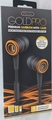 Sentry Gold Pro Metal Earbuds with In-Line Mic & Deluxe Case, Black, H8000B