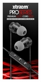Sentry Pro Series Premium Cloth Cord Ear Buds with Case, Black, H4000