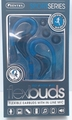 Sentry SportSeries Flexbuds, Flexible Blue Ear Buds with In Line Mic, HM238BL