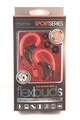 Sentry SportSeries Flexbuds, Flexible Red Ear Buds with In Line Mic, HM238RD