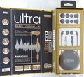 Sentry Ultra Pro Metal Earbuds with In-Line Mic & Deluxe Case, H7000