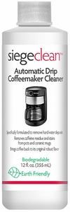 Siege Auto Drip Coffeemaker Cleaner, 12 oz, Earth Friendly, Made in USA, 769L