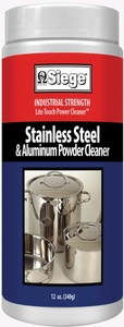 Siege Stainless Steel & Aluminum Powder Cleaner, 12 oz, Made in USA, P-11P