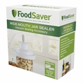 Sunbeam FoodSaver Vacuum Sealing Accessory Wide-Mouth Jar Sealer, T03-0023-01P