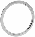 Range Chrome Trim Ring For General Electric, GT8, WB31X5014