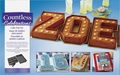 Wilton Countless Celebrations Cake Pan Letters & Numbers Set, 2105-0801