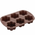 Wilton Silicone Bakeware, 6 Cavity Blossom Brownie Pops Mold, 2105-4924